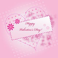 Free Abstract Valentine Background Royalty Free Stock Photo - 17788165