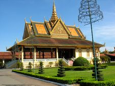 Buildings Of Park Royal In Phnom Penh Stock Photos