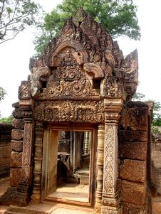 Overview Of Angkor Wat Stock Images