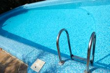 Free Blue Swimming Pool Royalty Free Stock Photo - 17788645