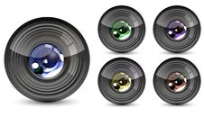 Free Color Lens Royalty Free Stock Photos - 17788728