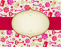 Free Beige Valentine Background, Royalty Free Stock Image - 17792136