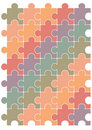 Free Puzzle Pattern Vector Design Template. Royalty Free Stock Image - 17796456