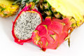 Free Pitaya, Fresh Dragon Fruit,Pineapple, Isolate Royalty Free Stock Image - 17799516