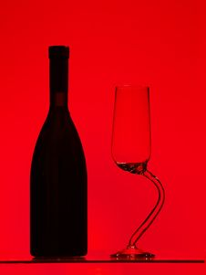 Free Wine Of Glass Stock Images - 17790204