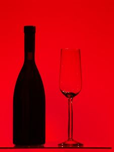 Free Wine Of Glass Royalty Free Stock Photo - 17790205