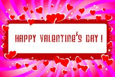 Free Valentine S Day. Royalty Free Stock Photos - 17790478