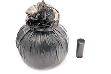 Free One Garbage Bag Stock Images - 17790614
