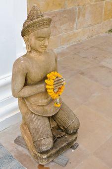 Thai Style Statue Stock Image