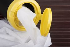 Free Napkins For Cleaning Royalty Free Stock Photos - 17791828