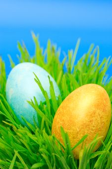 Free Easter Eggs Royalty Free Stock Photos - 17792328
