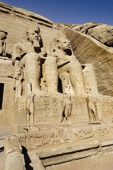 Free Abu Simbel Temple Stock Images - 17792434