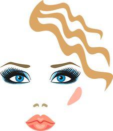 Free Women S Eyes Blue Royalty Free Stock Photo - 17792555