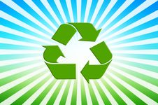 Recycling Symbol Stock Photography