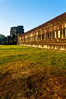 Free Outer Walls Of The Angkor Wat Temple Stock Photos - 17793063
