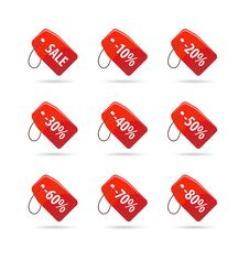Free Sale Tags Royalty Free Stock Image - 17793136