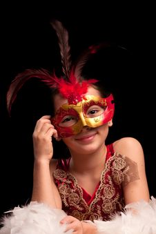 Free Red Mask Series Stock Image - 17793191