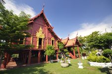 Thai Northern Countryside Home Royalty Free Stock Photos