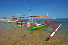 Free Bali Traditional Fishing Boat Stock Images - 17793524