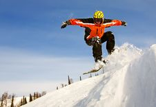 Free Snowboarder Stock Image - 17794521