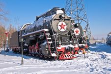 Free Retro Train Royalty Free Stock Photography - 17794677