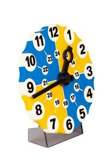 Free Clock Model Royalty Free Stock Photo - 17794705