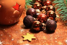 Free Christmas Decoration Royalty Free Stock Image - 17795526