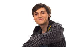 Free Happy Young Man Looking At Camera And Smiling Stock Image - 17795581