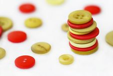 Free Red And Green Buttons Royalty Free Stock Image - 17795646
