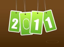 Free New Year Card. Stock Photos - 17795973