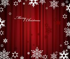 Free Christmas Red Background Stock Image - 17796361