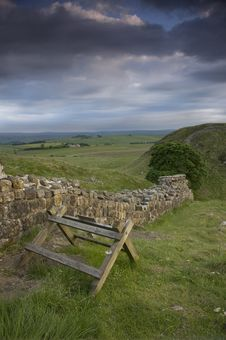 Free Hadrian S Wall Royalty Free Stock Image - 17796616