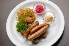 Free Sausages Stock Photos - 17797013
