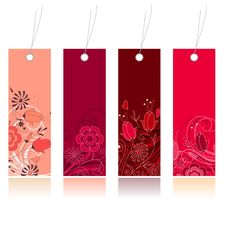 Free Shopping Floral Tags For Any Seasons Royalty Free Stock Photo - 17797035