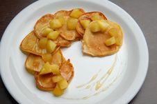 Free Pancakes With Jam Stock Photo - 17797300