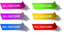 Free Discount Labels Stock Photo - 17797560