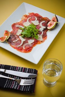 Free Carpaccio Dinner Royalty Free Stock Images - 17797789