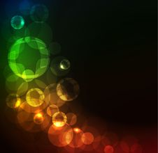 Free Glowing Abstract Background Stock Photos - 17798213