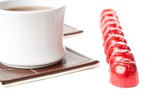 Tea With Sweets. Royalty Free Stock Photo
