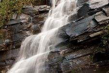 Free Side Of The Waterfall Royalty Free Stock Image - 17798626