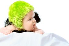 Free Green Hat Royalty Free Stock Photo - 17798815