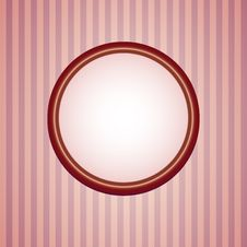 Free Retro Wallpapers With Round Frame Stock Photo - 17798900