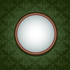 Free Wallpapers Ornament And Round Frame Royalty Free Stock Image - 17798916