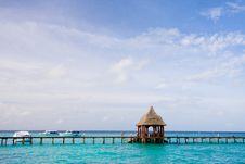 Free Pier On The Tropical Island Stock Photography - 17799162