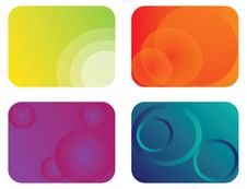Free Abstract Color Banner Illustration Stock Photography - 17799212