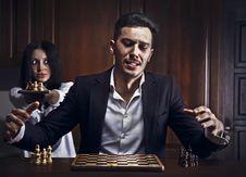 Free Chessplayer. Conceptual Photo. Stock Photo - 17799870