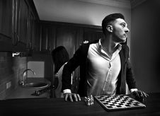 Free Chessplayer. Conceptual Photo. Royalty Free Stock Photo - 17799875