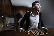 Free Chessplayer. Conceptual Photo. Royalty Free Stock Photos - 17799878