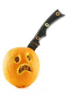 Free Sad Orange Royalty Free Stock Images - 1780099