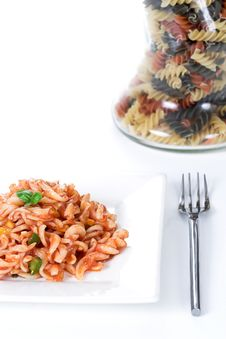 Free Screw Noodle Dish 3 Stock Images - 1780314